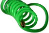 Flexcoil - Coiled Polyurethane Hose with Reusable Fitting -- PU316-5A-Y