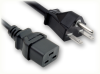 NEMA 6-15P to IEC-60320-C19 HOME • Power Cords • High Voltage Power Cords • Straight Blade Power Cords -- 5051.180 -Image