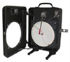 8 IN Circular Chart Recorder - Pressure, 2 pen, Portable/back mount -- EW-30018-18