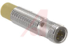 Sensor, Inductive; M12 x 1; 10 to 30 VDC; 200 mA (Max.); 2000 Hz; Brass -- 70034976 - Image
