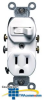 Leviton Single-Pole Switch/ Combination Receptacle -- 5225 - Image