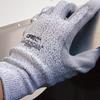 QRP Qualakote GPSPH Black/Gray/White Medium Nylon/UHMWPE Cut-Resistant Gloves - ANSI 2, EN 388 3 Cut Resistance - Polyurethane Palm Coating - GPSPH MD -- GPSPH MD