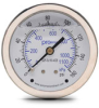0-160 psi Liquid filled Pressure Gauge with 2.5 inch mechanical dial -- G25-SL160-4CB