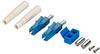 Fiber Optic Connector, Ceramic Ferrule, LC Single-Mode Duplex, 125-µm/3.0-mm -- FOT225