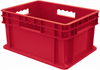 Container, Straight Wall Container, Solid -- 37288RED