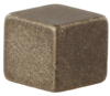MG Series, rare earth pressed bar magnet, 5,59 mm W x 5,59 mm H x 5,08 mm Dia. [0.22 in W x 0.22 in H x 0.20 in Dia.] -- 103MG8