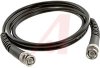 Cable Assy; 48 in.; 20 AWG; RG58C/U; Non Booted; Black Jacket; UL Listed -- 70197920