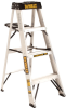 4' Aluminum Stepladder 300 lbs. Load Capacity -- DXL2010-04