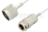 N Male to N Female Cable 60 Inch Length Using RG188 Coax, RoHS -- PE34283LF-60 -Image