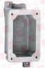 HUBBELL FXB-3 ( SPLICE BOX, 1IN, 1GANG, DEAD END ) -Image