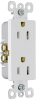 Pass & Seymour® -- Decorator Duplex Receptacle - S885WCC14