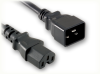 IEC-60320-C20 to IEC-60320-C15 HOME • Power Cords • IEC/Jumper Power Cords • Domestic -- 5308.036 -Image