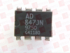 ANALOG DEVICES AD847JN ( OP AMP, 50MHZ, 300V/US, DIP-8; BANDWIDTH:50MHZ; NO. OF AMPLIFIERS:1; SLEW RATE:300V/ S; SUPPLY VOLTAGE RANGE:4.5V TO 18V; AMPLIFIER CASE STYLE:DIP; NO ) -- View Larger Image