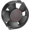 Fan; 150 mm Dia.; 55 mm; 24 VDC,211.9 CFM; 50 dBA; Leadwires; Ball; 12 to 30 V -- 70104799