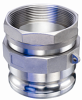 Threaded Swivel SS304 Male Adaptor with SS304 Threaded NPT Insert -Image