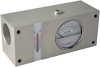 Inline Flow Indicator With Temperature Sensor, FI1500 Series, Up to 100 GPM - Image