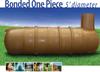 Bonded One Piece 5' Diameter Tank -- H1750-Bonded