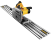 """6-1/2"""" (165mm) TrackSaw Kit with 59"""" Track -- DWS520SK"""