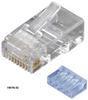 50-Pack RJ45 Unshielded Modular Plug 6-Wire -- FMTP6-R2-50PAK -- View Larger Image