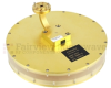 WR-15 Waveguide Horn Antenna With UG-387/U Round Cover Flange and 0 dBi Typical Gain Operating From 58 GHz to 63 GHz Frequency Range -- SANT-2010 - Image