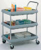 Polyolefin Utility Cart -- 1532-83 -- View Larger Image