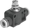 GR-QB-1/4-U One-way flow control valve -- 534682