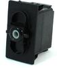 Carling Technologies V6D1S00B-00000-000 Unlit, SPDT, On-Off-On, 12V/20A Rocker Switch -- 44303 -Image