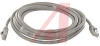 CABLE, MOLDED, CAT 5E WITH LOW PROFILE,5FT. GREY; booted -- 70081018 - Image