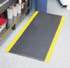 Seedburo Ultra-Tred Armor-Cote Anti-Fatigue and Safety Mat - ENDUR-ABLE ANTI-FATIGUE AND SAFETY MAT, BLACK, 3' X 5' -- 25237