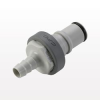NS6 Series Coupling Insert, Shutoff Polypropylene In-Line Compression -- NS6D20008 -Image