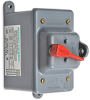 Manual motor controller, enclosed toggle switch type, mounted in ... -- 30322D -- View Larger Image
