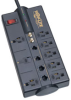 8-outlet, 10-ft Cord, 3240 Joules, Tel/Modem, Ethernet, Coaxial Protection - Protect It! Surge Suppressor -- TLP810NET