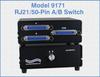 RJ21/50-Pin A/B Switch, Desktop, Manual Operation -- Model 9171