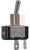 Switch, Toggle; 20 A @ 125 VAC, 10 A @ 277 VAC; SPST; Q.C. terminals -- 70118936 - Image