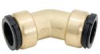 Quick-Connect Union Elbow - Lead Free Brass -- LF4722 -- View Larger Image