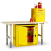 EAGLE Compact/Workbench Flammable Liquids Safety Cabinets -- 4632409