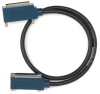 NI DB37F-DB37M LP I/O cable for connecting to 37-pin D-SUB C Series modules -- 154302-01 -Image