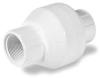 Swing Check Valve,1 In,FNPT,PVC -- 4GTV9