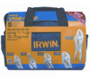 Irwin 2077704 5pc Locking Plier Set W/Bag -- PLIERLOCSET5IRW2