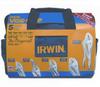 Irwin 2077704 5pc Locking Plier Set W/Bag -- PLIERLOCSET5IRW2