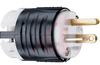Plug,EHU Specification Grade,2 Pole,3 Wire Ground,20A,125V,NEMA:2-20P,Black/Whit -- 70050655