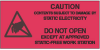 """Label, Red/Black 1-1/2"""" x 3""""  """"Caution Do Not Open"""" -- 3030-1530 -- View Larger Image"""