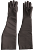 PIP Temp-Gard 202-1027 Black Medium Silicone Heat-Resistant Glove - 25.5 in Length - 616314-86410 -- 616314-86410