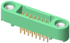 10+10 Pos. Male DIL Vertical Throughboard Conn. Screw-Lok -- G125-MV12005M1P -- View Larger Image
