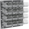 Panel, Louvered Wall Panel w/16 AkroBins -- 30618220SC