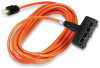 15' OR Heavy-Duty Indoor/Outdoor UTIL Cord Triple-Outlet 14/3 GND -- EPWR40