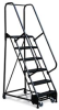 RELIUS SOLUTIONS Mobile Maintenance Ladder w.ESD-Safe Finish -- 7960600