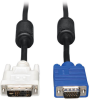 DVI to VGA Monitor Cable, High Resolution Cable with RGB Coax (DVI-A to HD15 M/M), 10-ft. -- P556-010 - Image