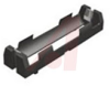 Lithium-Ion Battery Holder, 1 Cell, Plastic UL 94V-O, PC Mount -- 70182389