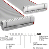 Rectangular Cable Assemblies -- H3BBH-3436G-ND -Image